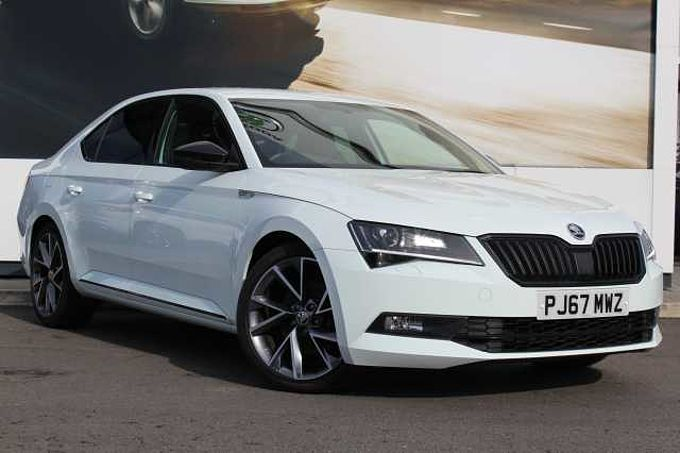 SKODA Superb 2.0 TDI (150ps) SportLine DSG 5Dr Hatchback