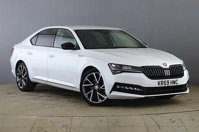 SKODA Superb 2.0 TSI (190ps) SportLine Plus DSG Hatch